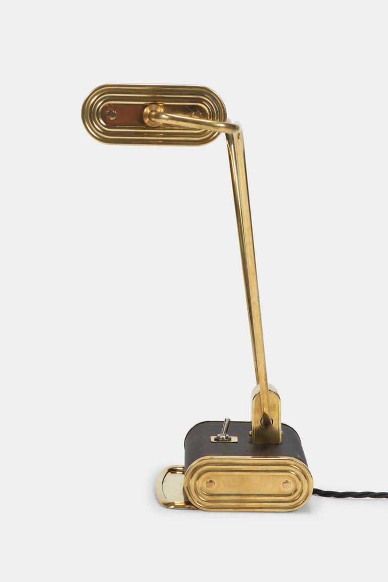 Mid-20th Century Eileen Gray Desk Lamp Jumo, 1940s For Sale