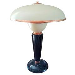 Eileen Gray for Jumo French Art Deco Bakelite Desk/Table Lamp