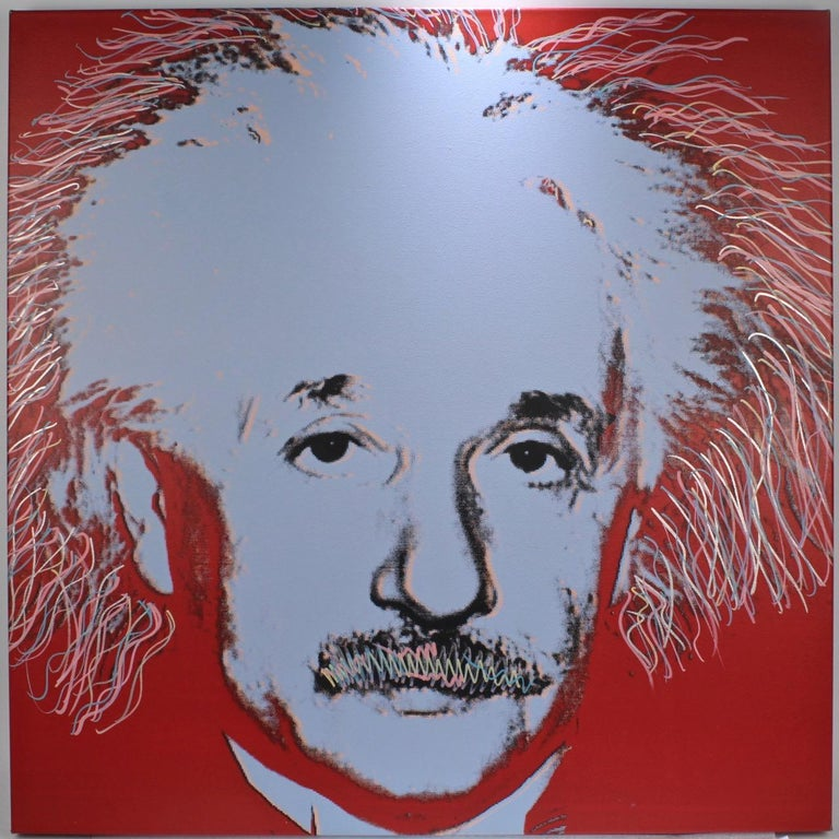 Title: Einstein State I (with embellishments). 