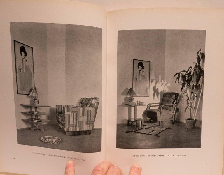 German Einzelmöbel und Neuzeitliche Raumkunst Book For Sale