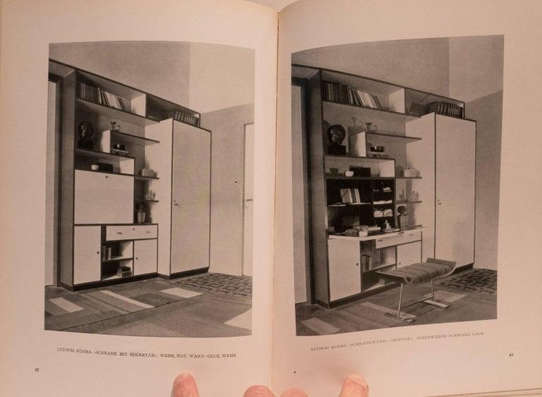 Mid-20th Century Einzelmöbel und Neuzeitliche Raumkunst Book For Sale