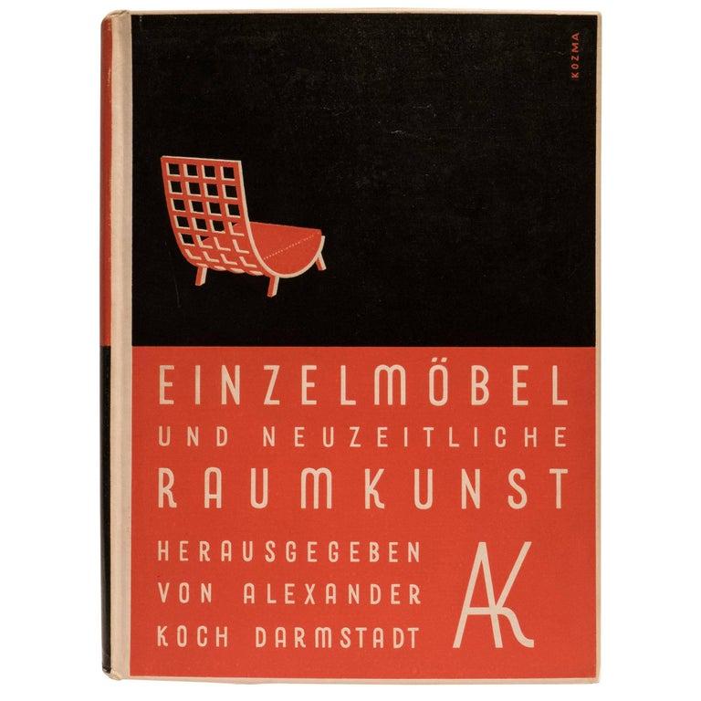 Einzelmöbel und Neuzeitliche Raumkunst Book For Sale