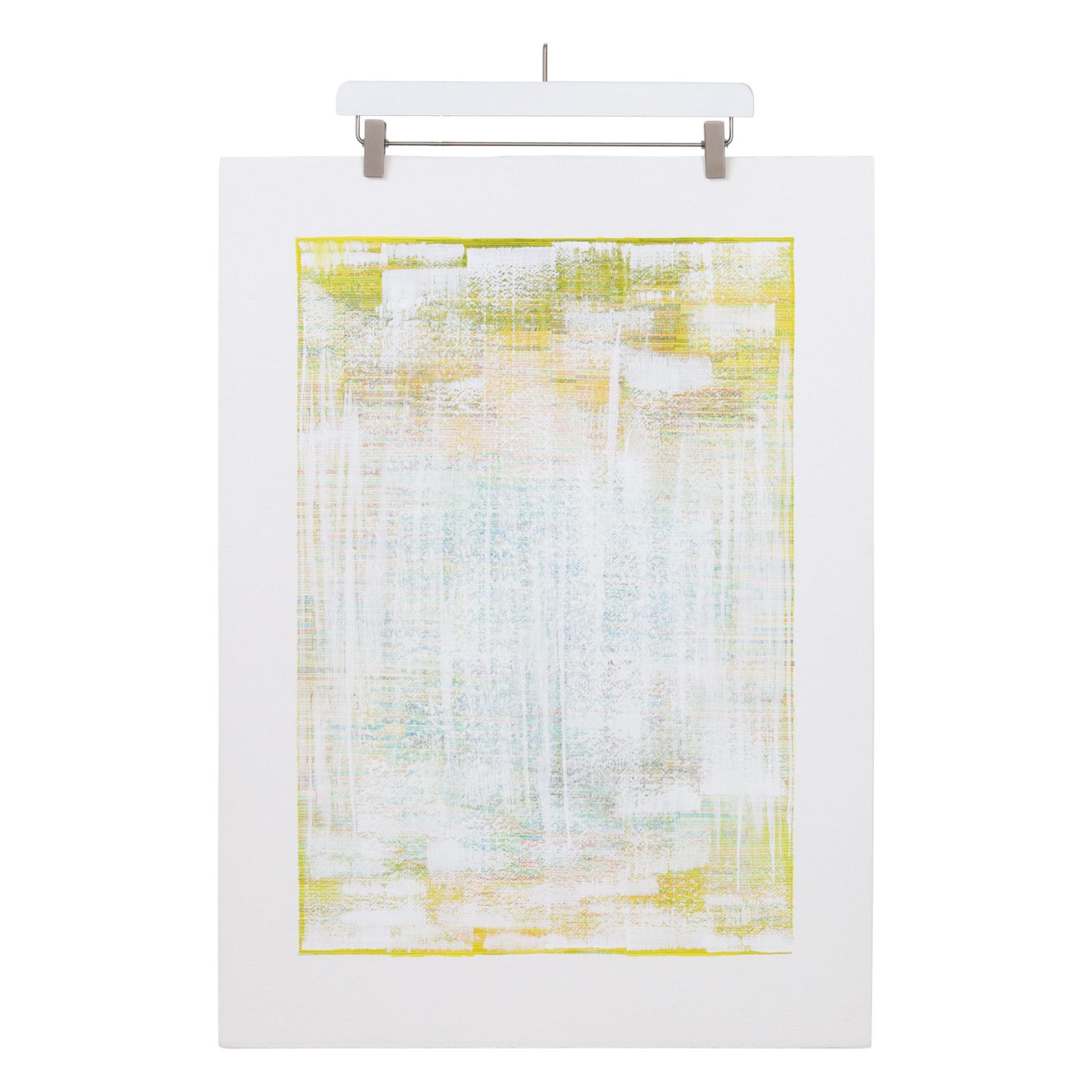 """Eisco Sulfur"", Original Mixed-Media Painting on Paper"