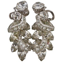 Eisenberg Rihinestone Earrings