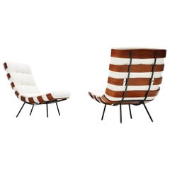 Eisler and Hauner Costela Lounge Chairs Forma, Italy, 1960