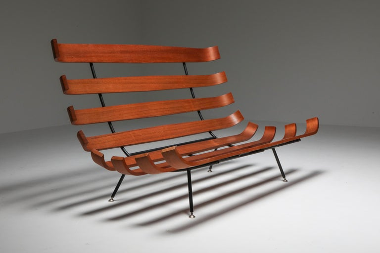 Mid-Century Modern Eisler and Hauner 'Costela' Sofa For Sale