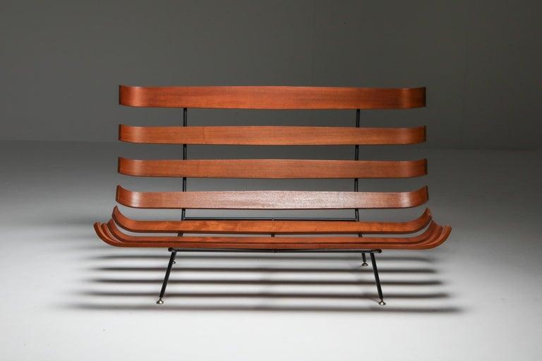 Brazilian Eisler and Hauner 'Costela' Sofa For Sale