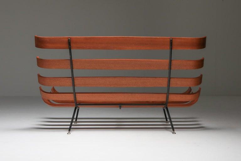 Mid-20th Century Eisler and Hauner 'Costela' Sofa For Sale