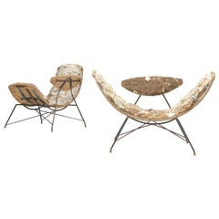 Eisler and Hauner Iconic and Rare Early Edition 'Reversible' Chairs