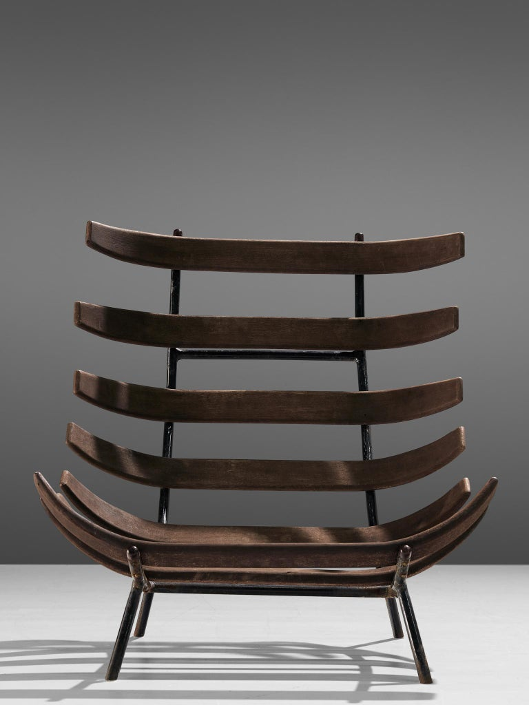 Eisler and Hauner Patinated 'Costela' Chairs For Sale 3
