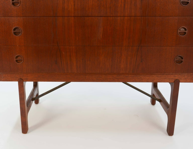 Ejnar Larsen & Aksel Bender Madsen Chest of Drawers In Good Condition For Sale In Portland, OR