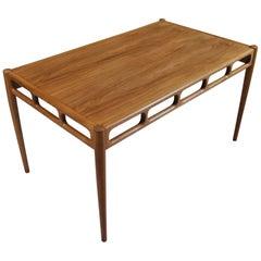Ejnar Pedersen Sofa Table, Denmark, 1950's