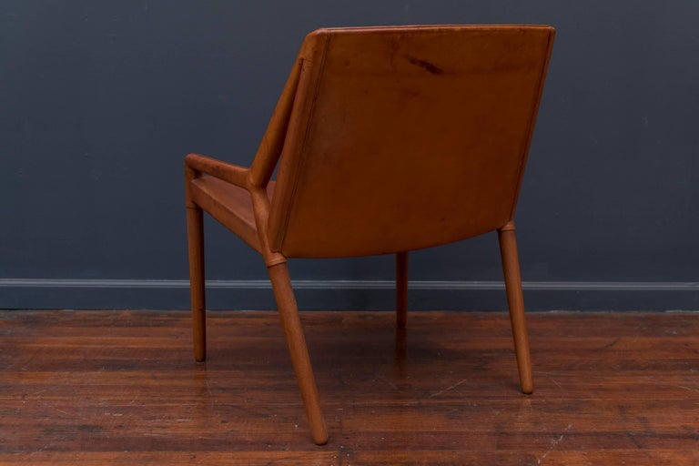 Ejner Larsen & Askel Bender Madsen Lounge Chair for Willy Beck In Good Condition For Sale In San Francisco, CA