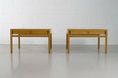 Ejner Larsen and Aksel Bender Madsen ; Pair of end tables for Willy Beck .