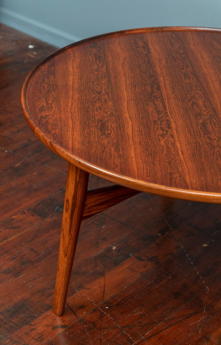 Ejner Larsen and Askel Bender Madsen Coffee Table for Willy Beck In Good Condition For Sale In San Francisco, CA