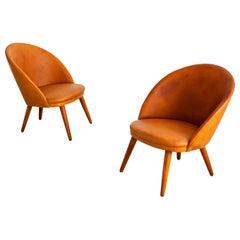 Ejvind A. Johansson Danish Easy Chairs