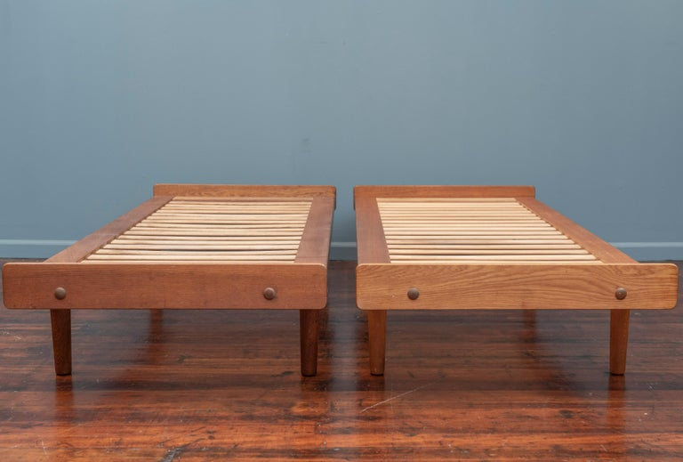 Mid-20th Century Ejvind Johansson Daybeds, Model G19 for FDB Mobler For Sale