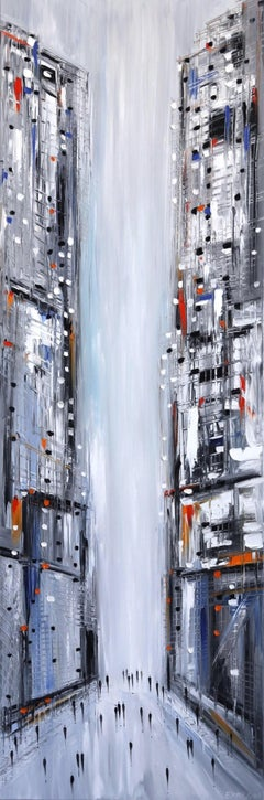 In The City - Original Oil Painting