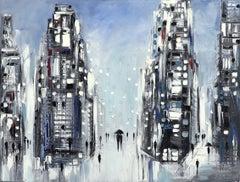 Rain - Original Oil Painting
