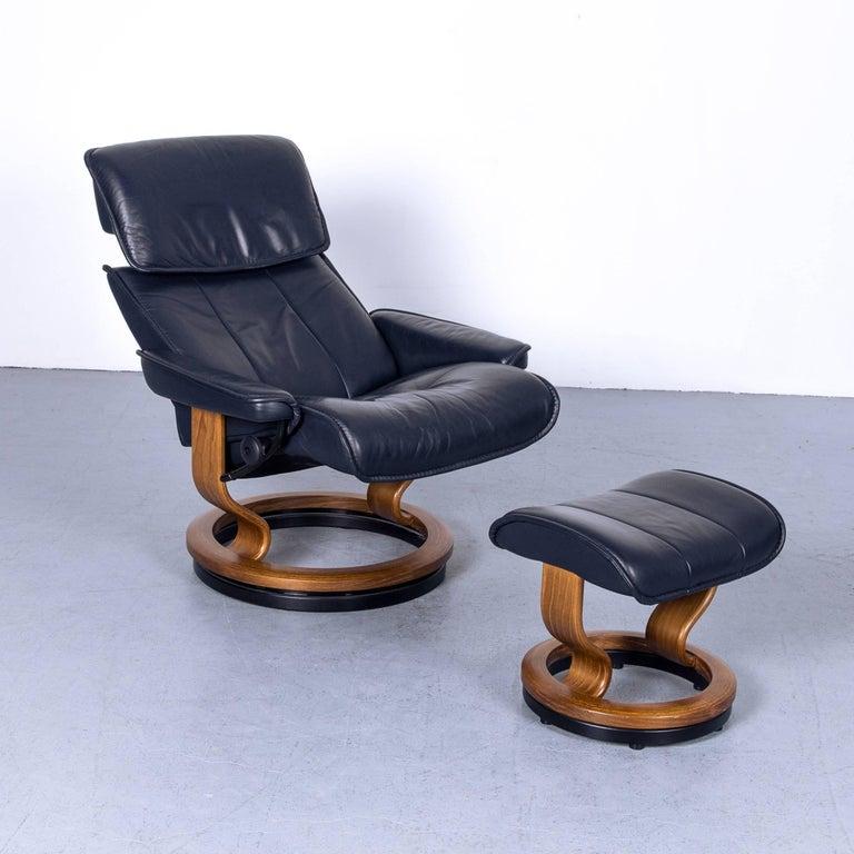 Ekornes Stressless Buckingham L Armchair And Footstool Set
