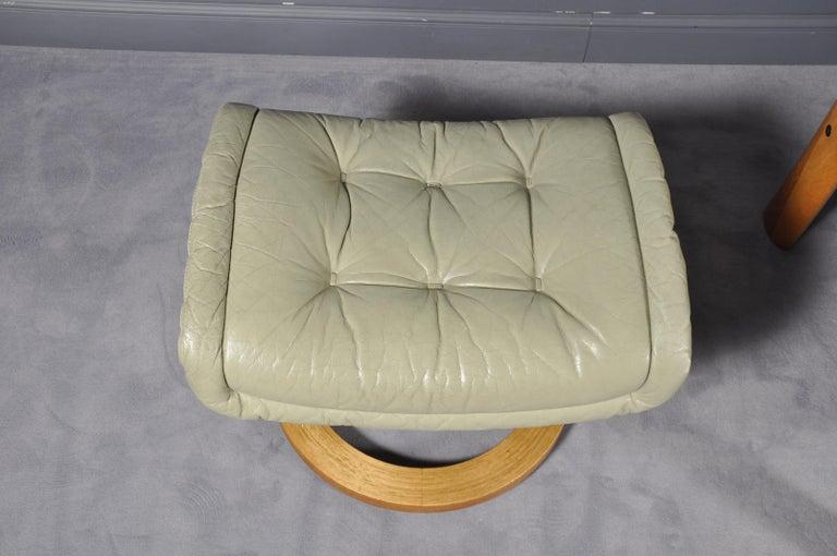 Ekornes Stressless Montana Solid Teak Loveseat Sofa By J E