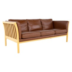 Ekornes Style Blonde Sofa