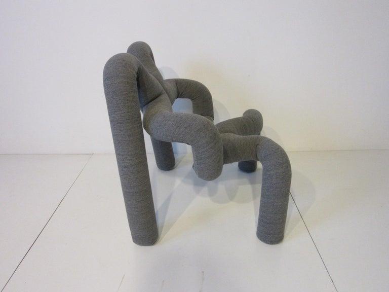 Modern Ekstrem Sculptural Chair by Terje Ekstrom Made in Norway For Sale