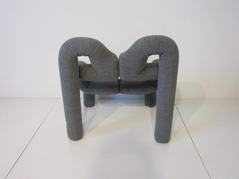Norwegian Ekstrem Sculptural Chair by Terje Ekstrom Made in Norway For Sale