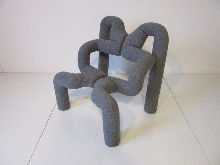 Ekstrem Sculptural Chair by Terje Ekstrom Made in Norway For Sale 1