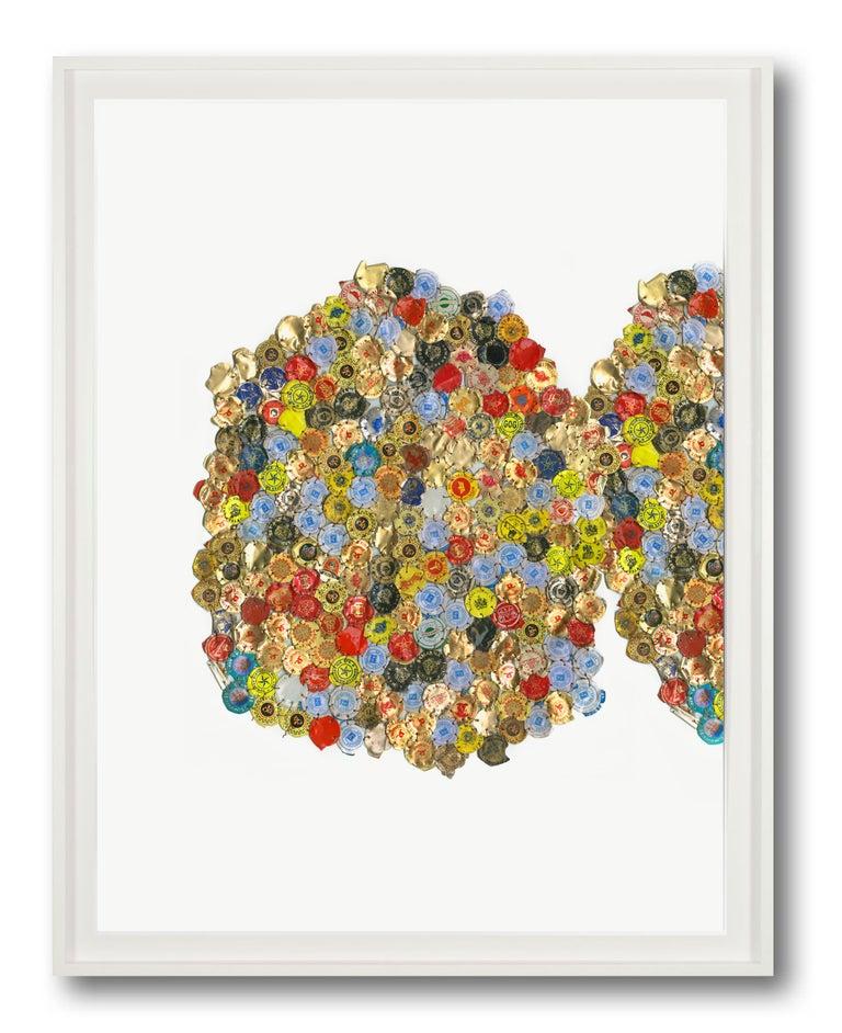 Variation I_C - Print by El Anatsui