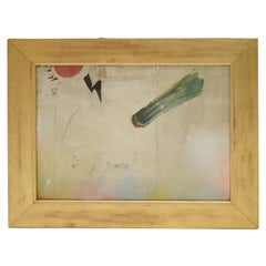 EL FIN Abstract Collage by Artist Huw Griffith