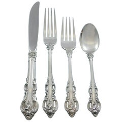 El Grandee by Towle Sterling Silver Flatware Set for 8 Service 39 Pieces