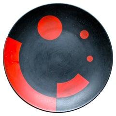 El Lissitzky 'Bauhaus' Ceramic Plate