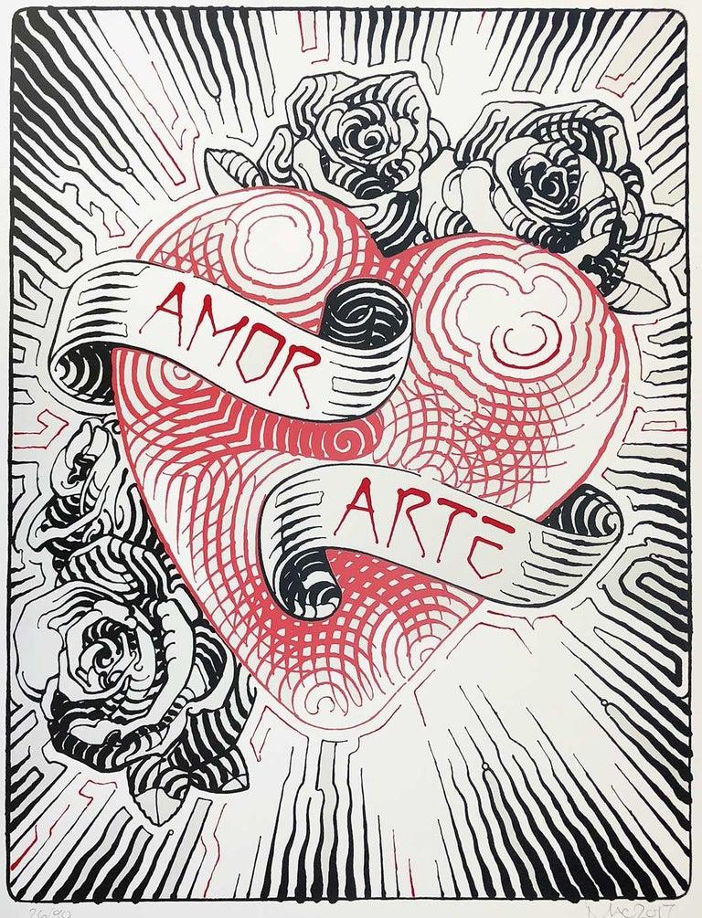 El Mac Amor Y Arte Print For Sale At 1stdibs