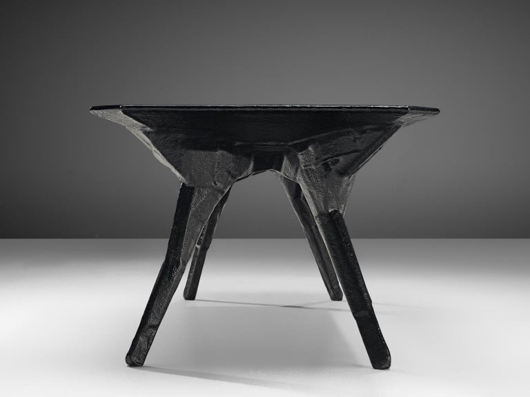 El Ultimo Grito Dining Table with Sculptural Legs For Sale 1