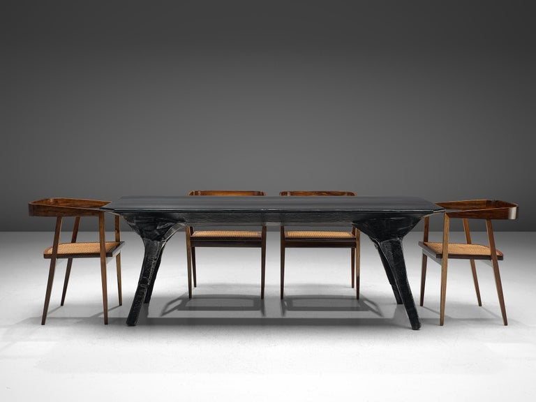 El Ultimo Grito Dining Table with Sculptural Legs For Sale 2