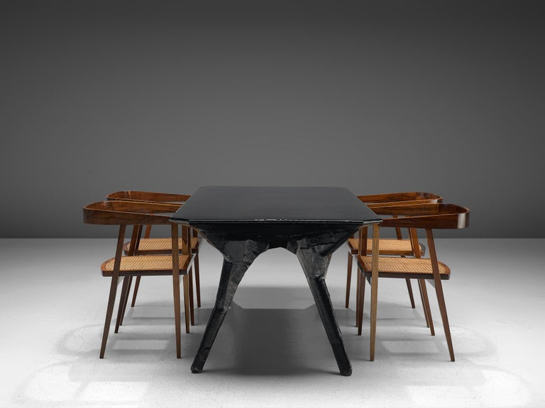 El Ultimo Grito Dining Table with Sculptural Legs For Sale 3