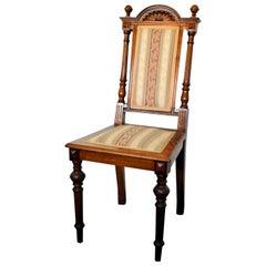 Elaborately Carved Chair, circa 1890