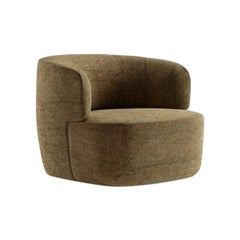 Molteni&C Elain Armchair Design Vincent Van Duysen Design Beige Fabrics