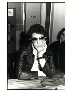 Lou Reed in Sunglasses Vintage Original Photograph