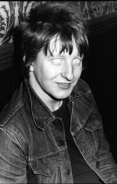 Rat Scabies of The Damned White Eyes Vintage Original Photograph