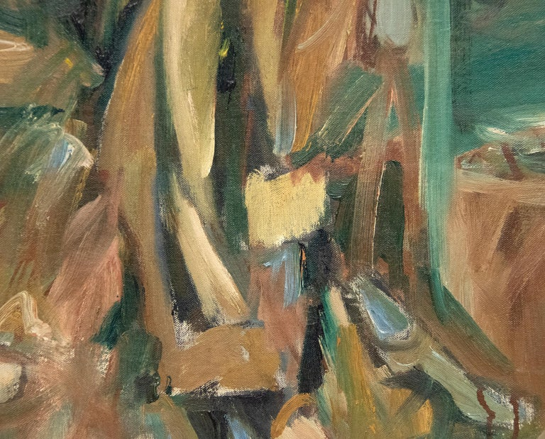 A painting by Elaine de Kooning.