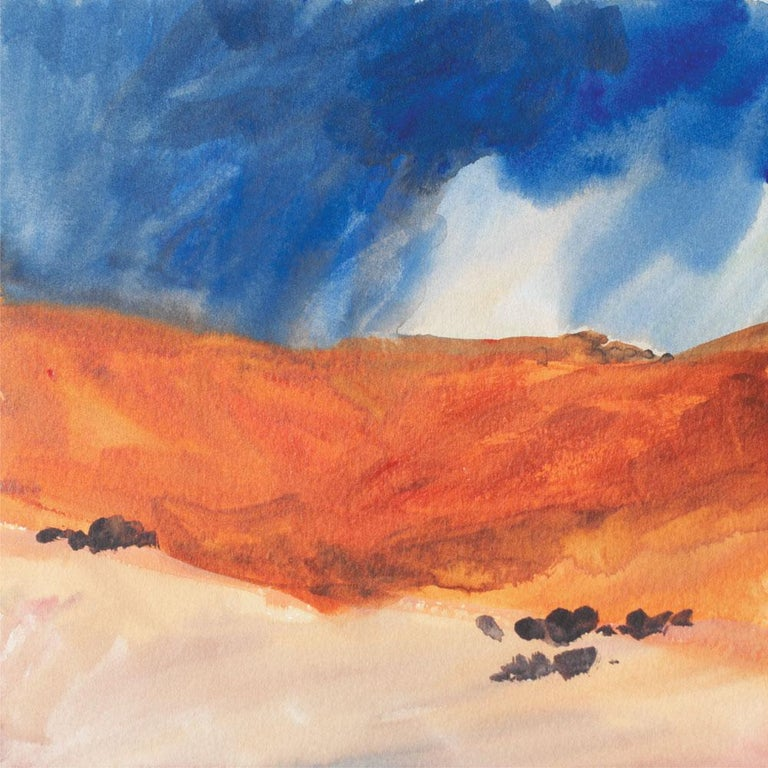 Elaine Holien Landscape Painting - Ghost Ranch 7/14/2013