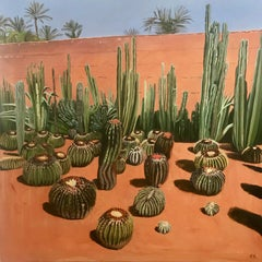 Elaine Kazimierczuk, Cactus Madness, Musee de la Palmeraie, Morocco,