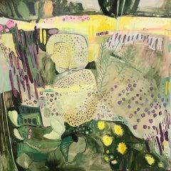 Elaine Kazimierczuk, Large Merton Beds 1, Original Abstract Landscape Painting