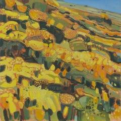 Elaine Kazimierczuk, Wind across the Gorse II, Contemporary Art, Original Art
