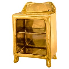 Elation Side Table in Brass by Scarlet Splendour