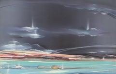 Seascape, Large Painting by Elba Alvarez