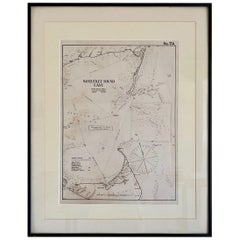 Eldridge Chart of Nantucket Sound – East, circa 1920