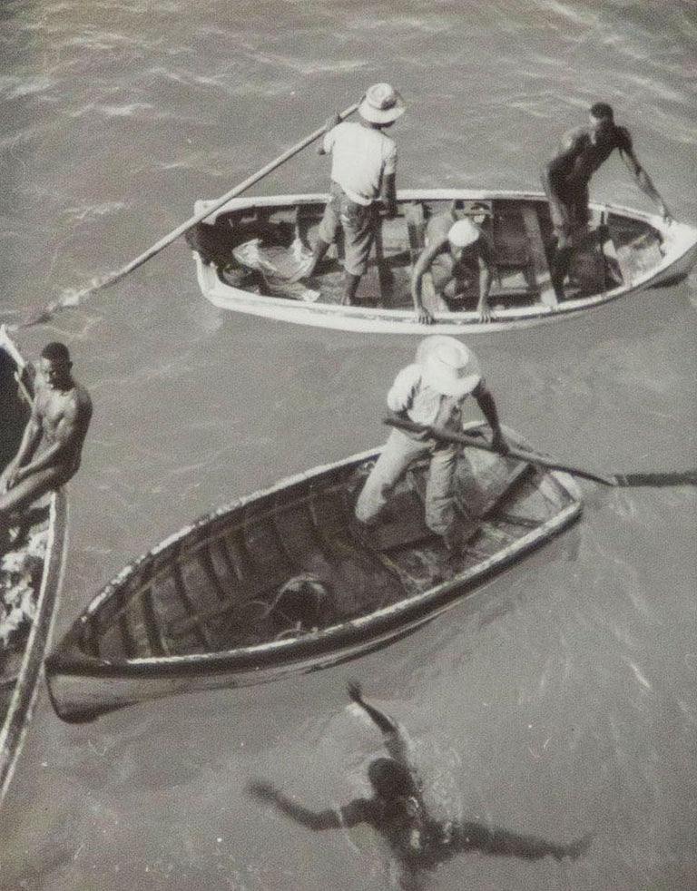 Diving Boats - Photograph by Eleanor Parke Custis